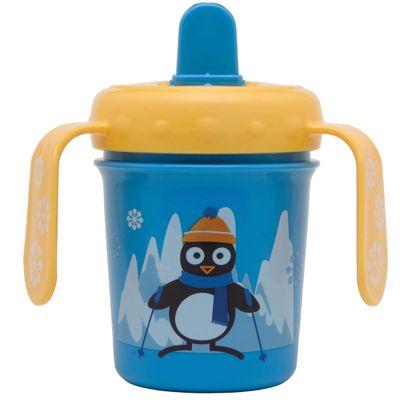 Copo-com-Alca---Funny-Pequeno---Pinguim---210Ml---Girotondo