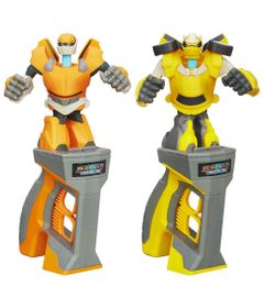 100117743-Kit-Transformers-Battle-Masters-Bumblebee-e-Prowl-Hasbro