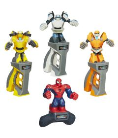 100117744-Kit-Battle-Masters-Spider-Man-Barricade-Bumblebee-e-Prowl-Hasbro