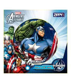 Bola-de-Vinil---Avengers---Marvel---Hulk-e-Capitao-America---Zippy-Toys