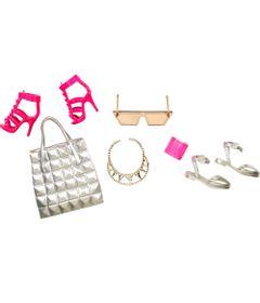 7590e461f Acessórios Barbie - Bolsas e Sapatos - Serie 2 - Mattel