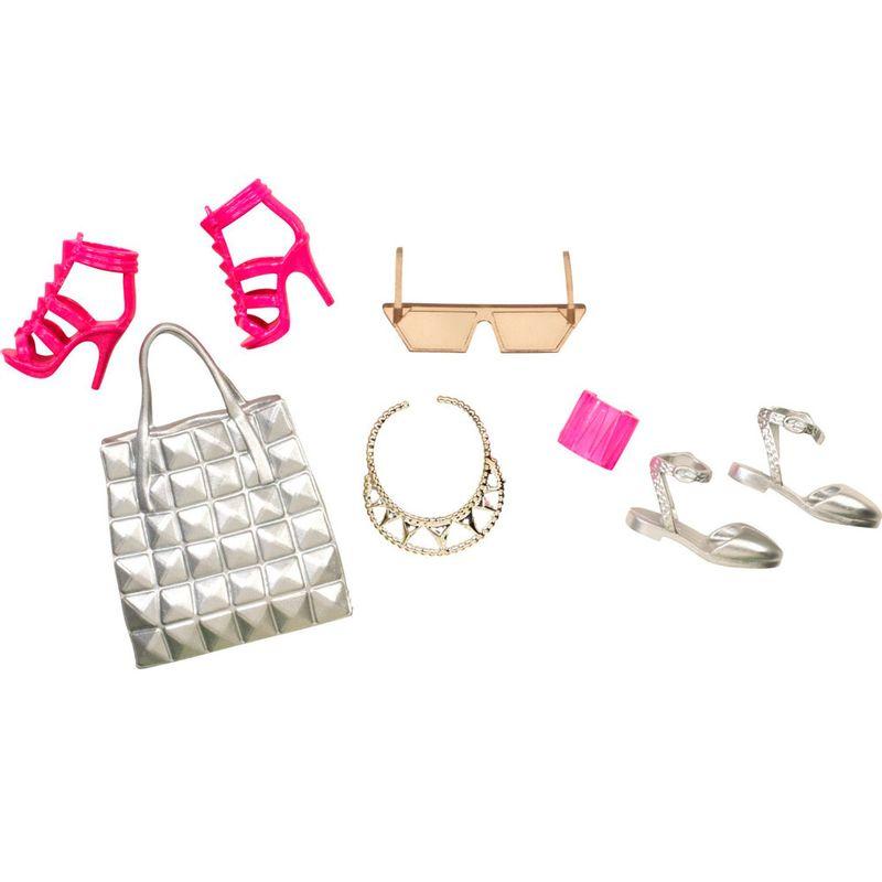 a9b2ce031 Acessórios Barbie - Bolsas e Sapatos - Serie 2 - Mattel - Ri Happy  Brinquedos