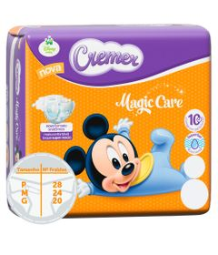 Fralda-Descartavel-Magic-Care-Jumbinho---Disney-Baby---Cremer---P---28-Unidades
