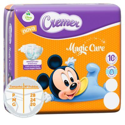 Fralda-Descartavel-Magic-Care-Jumbinho---Disney-Baby---Cremer---P---28-Unidades