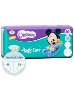 Fralda-Descartavel-Magic-Care-Pratica---Disney-Baby---Cremer---P---32-Unidades
