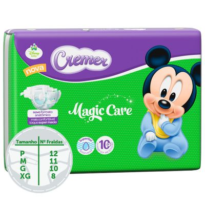 Fralda-Descartavel-Magic-Care-Hiper---Disney-Baby---Cremer---M---72-Unidades