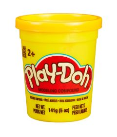 Massinha-Play-Doh---Pote-Individual---Amarelo---Hasbro