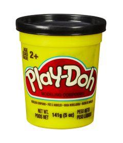 Massinha-Play-Doh---Pote-Individual---Preto---Hasbro