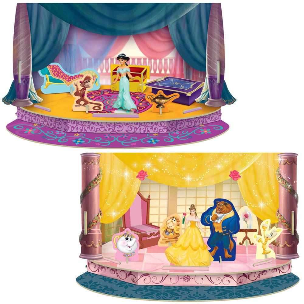 Compre 2 pelo Preço de 1 - Playset Momentos Mágicos Princesas Disney - Jasmine e Bela - Estrela