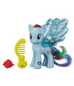 Mini-Figura-My-Little-Pony---Water-Cuties---Rainbow-Dash---Hasbro