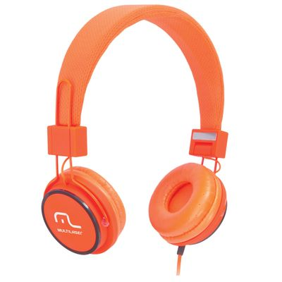 Headphone-Fun---Laranja---Multilaser