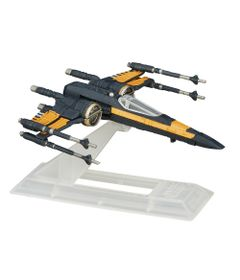 Veiculo-Blackser-Die-Cast---Star-Wars---Episodio-VII---Poes-X-Wing-Fighter---Hasbro
