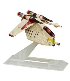 Veiculo-Blackser-Die-Cast---Star-Wars---Episodio-II---Republic-Gunshp---Hasbro
