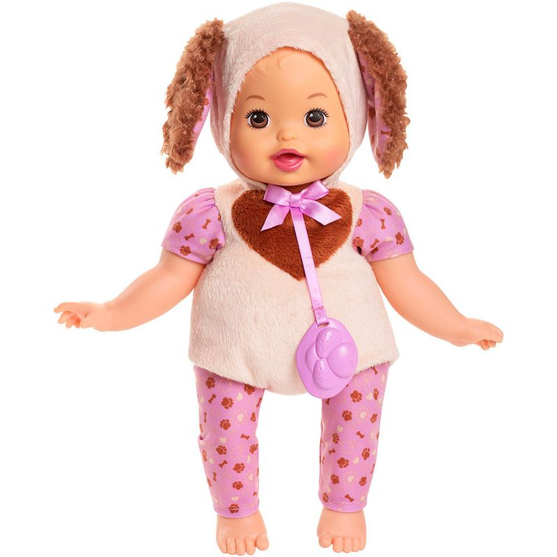 53af6dbbb Boneca Little Mommy - Fantasias Fofinhas - Cachorrinha - Mattel - Ri Happy  Brinquedos