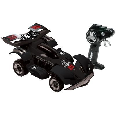 Carro de Controle Remoto Movido a Bateria Star Wars Dark Side Racer Candide
