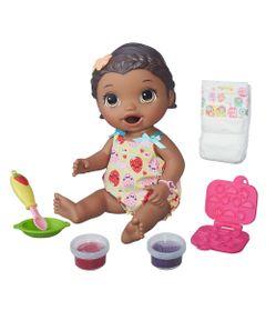 Boneca-Baby-Alive---Hora-do-Lanchinho---Negra---Hasbro