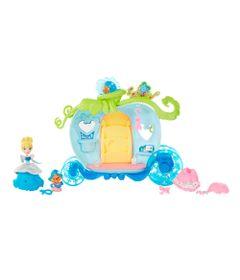 Playset-de-Luxo---Princesas-Disney-Little-Kingdom---Carruagem-da-Cinderela---Hasbro