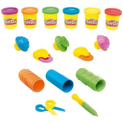 Conjunto-Play-Doh---Aprendizado-Sensorial---Hasbro