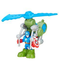 Mini-Figura-Playskool-Heroes---Marvel-Super-Hero-Adventure---Capitao-America-Helicoptero-da-Selva---Hasbro