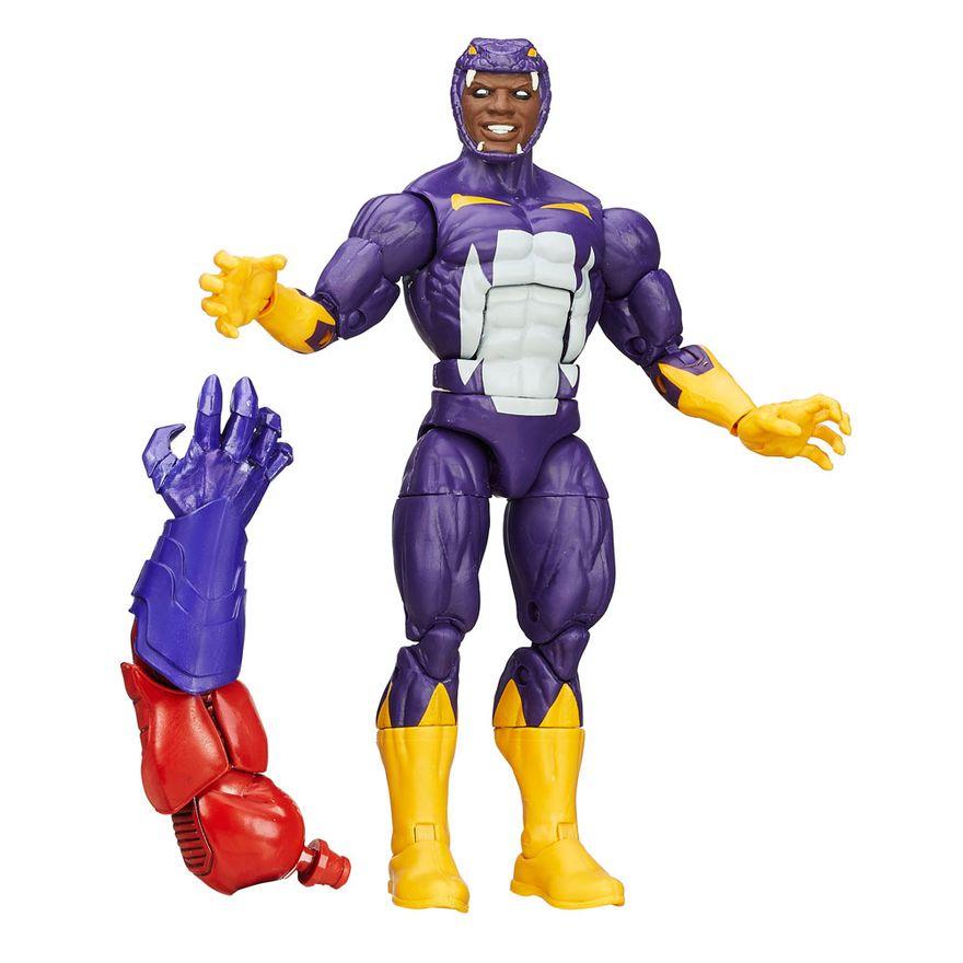 Boneco-Legends-Series---Marvel-Capitao-America---Build-a-Figure---Red-Skull---Forcas-do-Mal---Cottonmouth--Hasbro