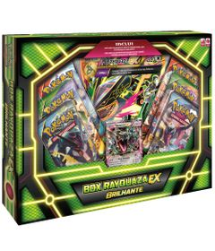Jogo-de-Cartas---Box-Rayquaza-EX-Brilhante---Pokemon-Trading-Card-Game---Poderes-do-Alem---Copag