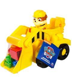 Veiculo-com-Blocos-de-Montar---Patrulha-Canina---Rubble-Bulldozer-e-Trator---Sunny