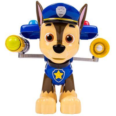 Boneco-Patrulha-Canina---Chase-com-Lancador-Jumbo---Sunny