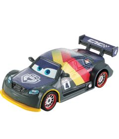 Veiculo-de-Corrida---Disney-Carros---Carbon-Racers---Max-Schenell-Diecast---Mattel