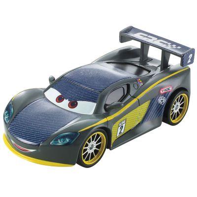 Veiculo-de-Corrida---Disney-Carros---Carbon-Racers---Lewis-Hamilton-Diecast---Mattel