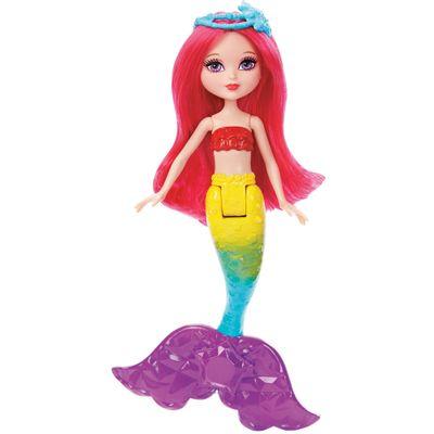 Mini-Boneca-Barbie-Reino-Magico---Pequena-Sereia-do-Reino-dos-Arco-iris---Mattel