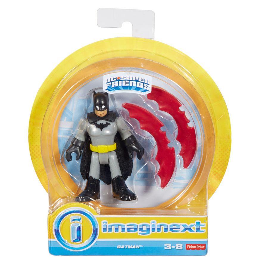 Mini-Figura-de-Acao---DC-Comics---Imaginext---Batman-com-Acessorios-15-Cm---Mattel