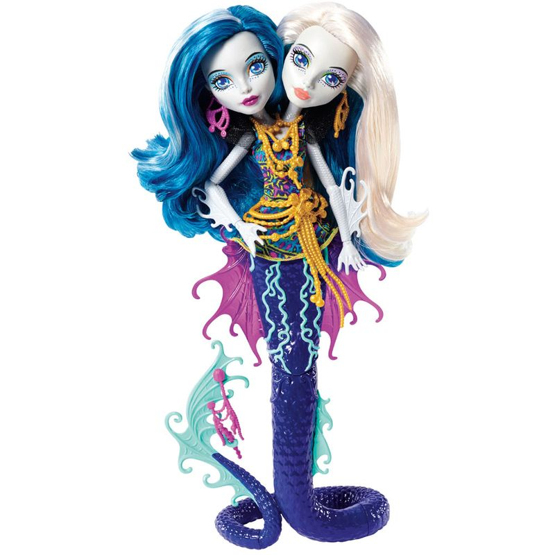 77ddc2418 Boneca Fashion - Monster High - Barreira Assustadora - Peri e Pearl -  Mattel - Ri Happy Brinquedos