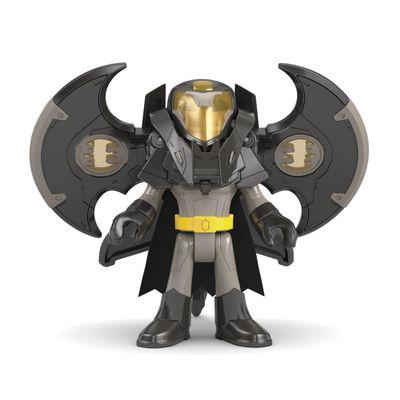 Figura-de-Acao-Imaginext---DC-Super-Friends---Batman-com-Armadura-Drone---Mattel