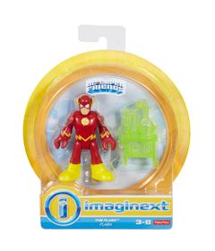 Mini-Figura-de-Acao---DC-Comics---Imaginext---The-Flash-com-Acessorios-15-Cm---Mattel