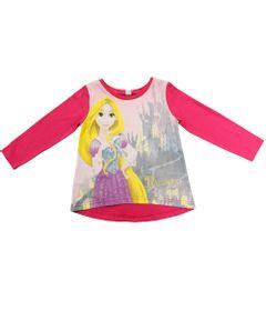 Blusa-Manga-Longa---Pink---Rapunzel---Princesas---Disney