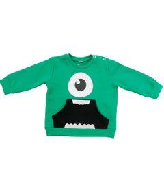 Blusao-de-Moletom-com-Bolso-Canguru---Verde---Mike-Wazowski---Monstros-S-A---Disney