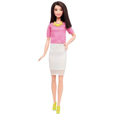 Boneca-Barbie---Fashionista---White-and-Pink-Pizzazz---Tall---Mattel