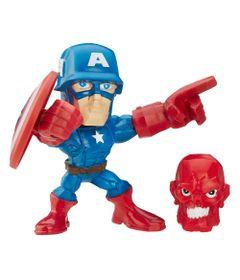 Mini-Figura-Articulada-5cm---Marvel-Super-Hero-Mashers-Micro---Serie-1---Capitao-America---Hasbro