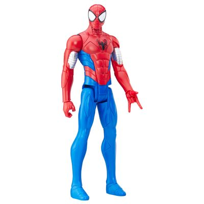 Boneco-Articulado-30cm---Titan-Hero-Series---Marvel-Ultimate-Spider-Man---Sinister-6---Armadura-Homem-Aranha---Hasbro