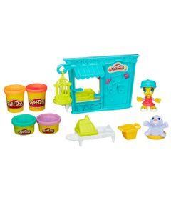 Playset-e-Massa-de-Modelar---Play-Doh-Town---Tenda-de-Mascotes-Pet-Shop---Hasbro