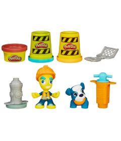 Massa-de-Modelar-e-Figura---Play-Doh-Town---Construtor---Hasbro