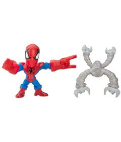 Mini-Figura-Articulada-5cm---Marvel-Super-Hero-Mashers-Micro---Serie-1---Homem-Aranha---Hasbro