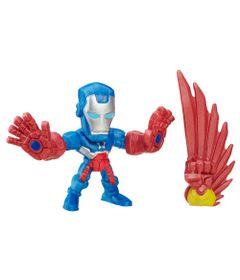 Mini-Figura-Articulada-5cm---Marvel-Super-Hero-Mashers-Micro---Serie-1---Patriota-de-Ferro---Hasbro