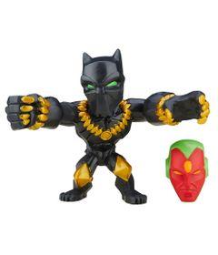 Mini-Figura-Articulada-5cm---Marvel-Super-Hero-Mashers-Micro---Serie-2---Pantera-Negra---Hasbro