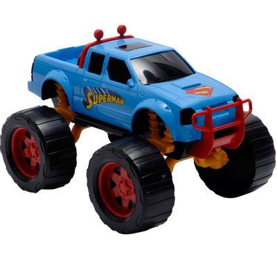 Carrinho-de-Roda-Livre---DC-Liga-da-Justica---Strong-Truck---Superman---Candide