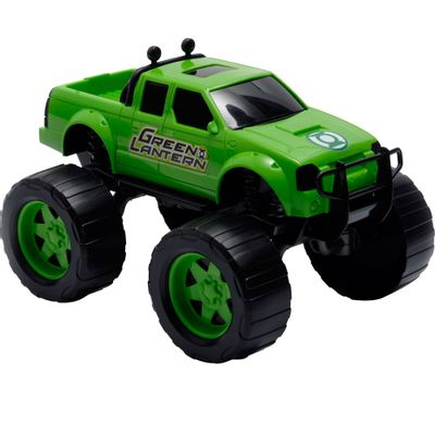 Carrinho-de-Roda-Livre---DC-Liga-da-Justica---Strong-Truck---Lanterna-Verde---Candide