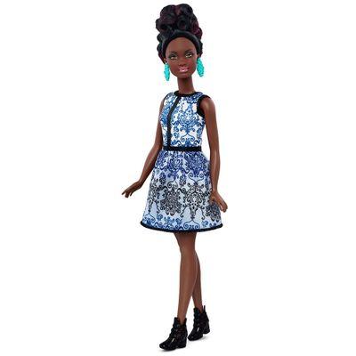 Boneca-Barbie---Fashionista---Blue-Brocade---Petite---Mattel