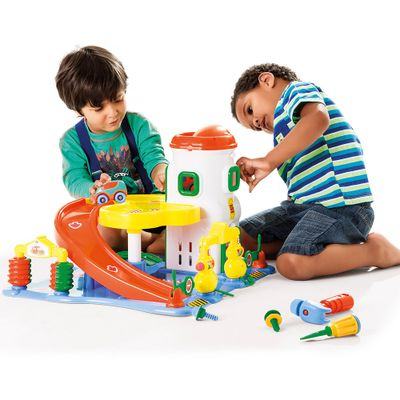Playset-e-Mini-Veiculos---Car-Center---Calesita