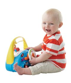 Centro-de-Atividades---Learn-and-Laugh---Volante-de-Carrinho-do-Cachorrinho---Fisher-Price