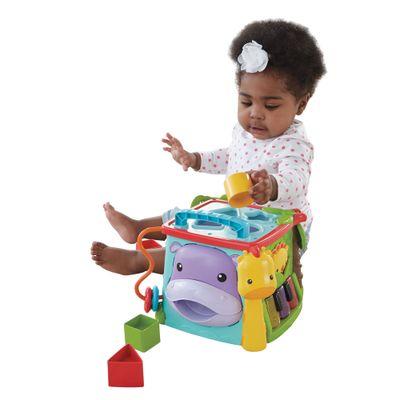 Cubo de Atividades - Primeira Infância - Learn And Laugh - Fisher-Price